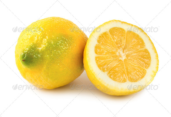 Two lemons - Stock Photo - Images