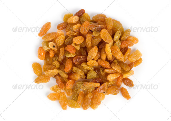 Raisins isolated - Stock Photo - Images