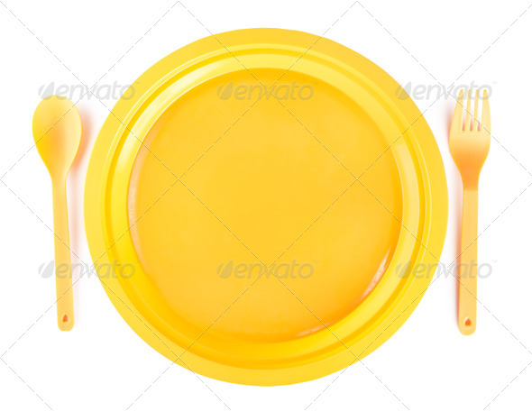 Cutlery set isolated - Stock Photo - Images