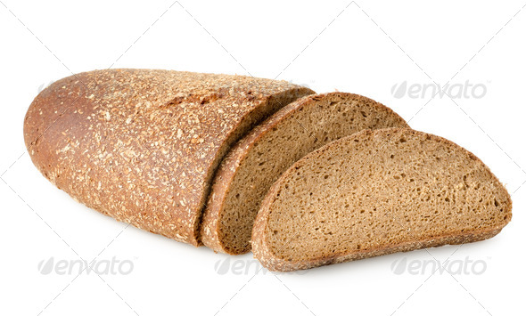 Black rye braed - Stock Photo - Images