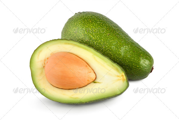 Ripe avocado - Stock Photo - Images