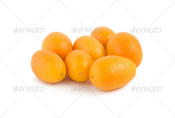 Kumquat isolated - Stock Photo - Images