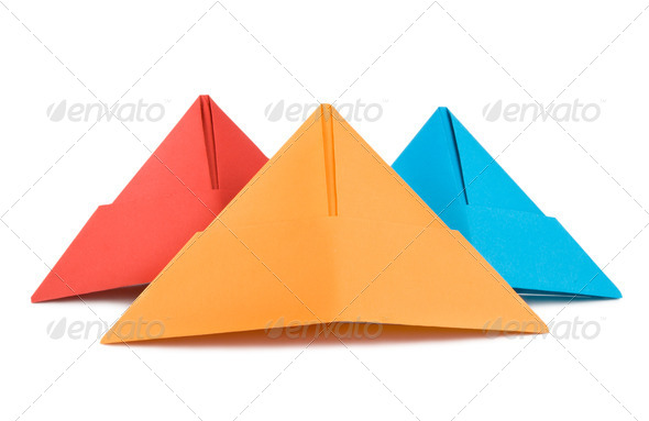 Paper hat isolated - Stock Photo - Images