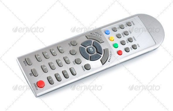 Universal remote control (Patch) - Stock Photo - Images