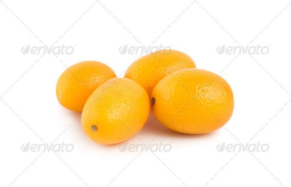 Ripe kumquat - Stock Photo - Images