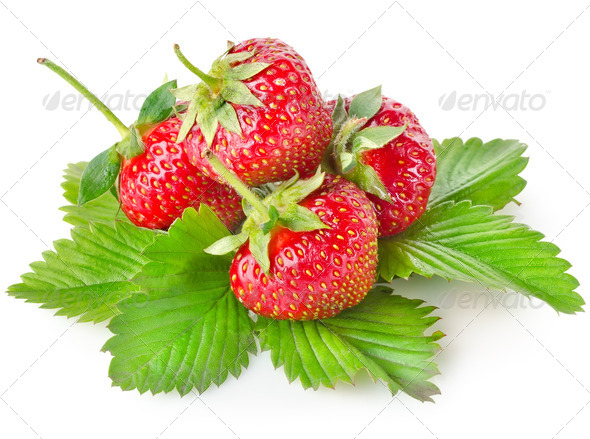 Heap strawberry - Stock Photo - Images