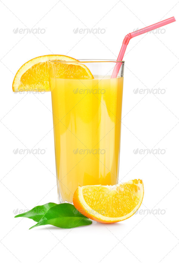 Orange juice - Stock Photo - Images