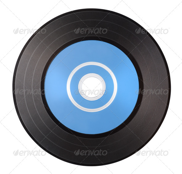 Vinyl record - Stock Photo - Images
