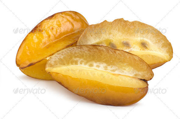 Tropical fruit carambola - Stock Photo - Images