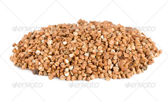 Buckwheat isolated - Stock Photo - Images