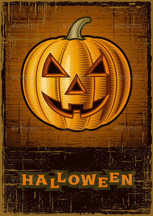 Halloween Jack O'Lantern - Halloween Seasons/Holidays