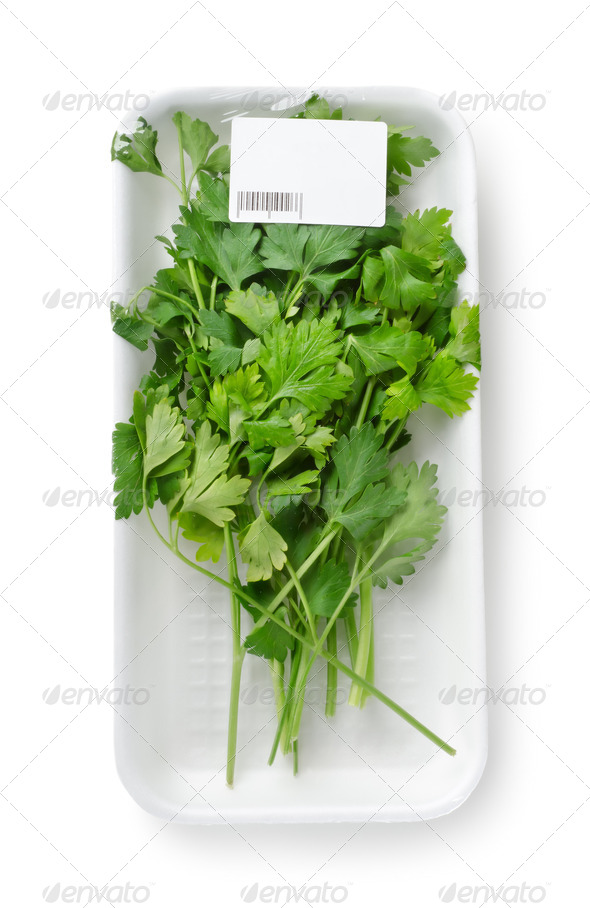 Packed parsley - Stock Photo - Images