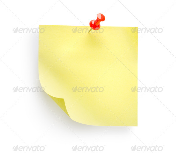 Yellow notebook - Stock Photo - Images