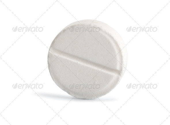 Tablet aspirin (Path) - Stock Photo - Images