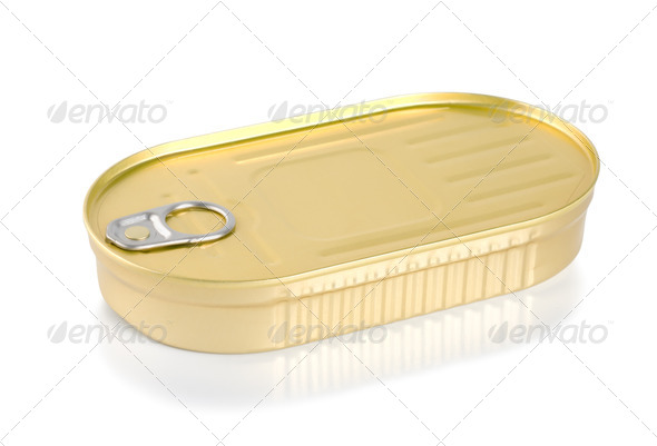 Canned sardines - Stock Photo - Images