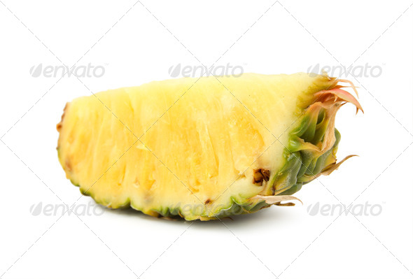 Pineapple isolated on white background - Stock Photo - Images