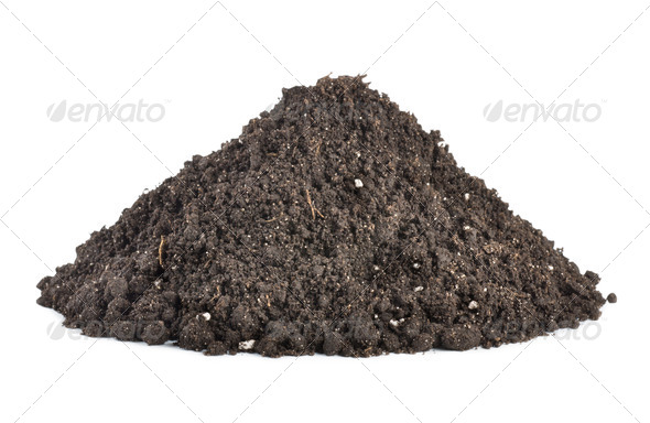 Pile of soil - Stock Photo - Images