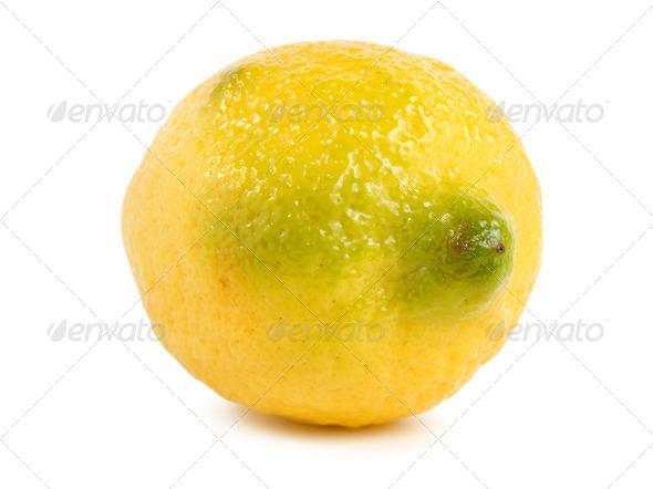 Lemon isolated - Stock Photo - Images