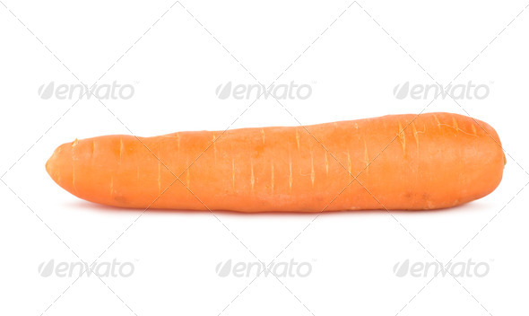 Ripe carrot - Stock Photo - Images