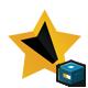 Star Writers Editors Logo - GraphicRiver Item for Sale