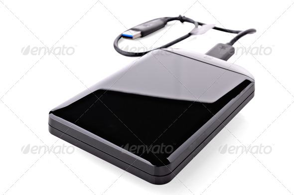 Versatile Hard Drive - Stock Photo - Images