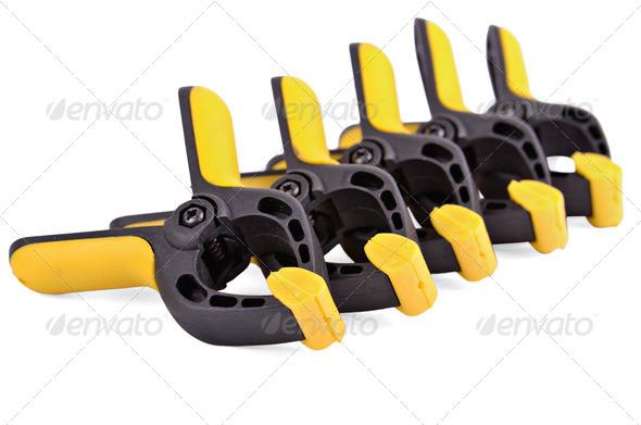 quick lock clamp - Stock Photo - Images