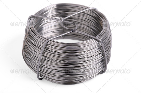 Roll wire - Stock Photo - Images