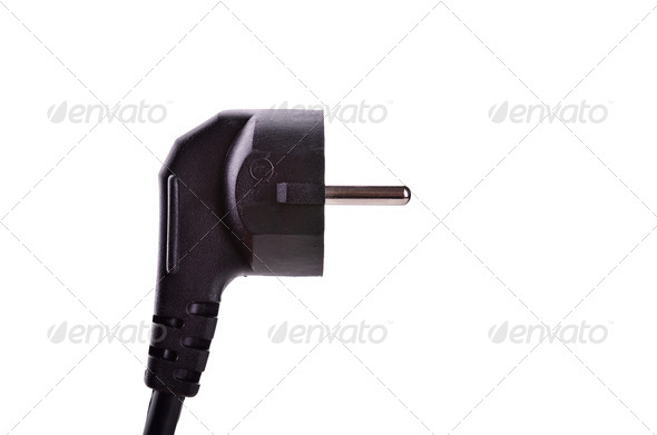 Electric cord - Stock Photo - Images
