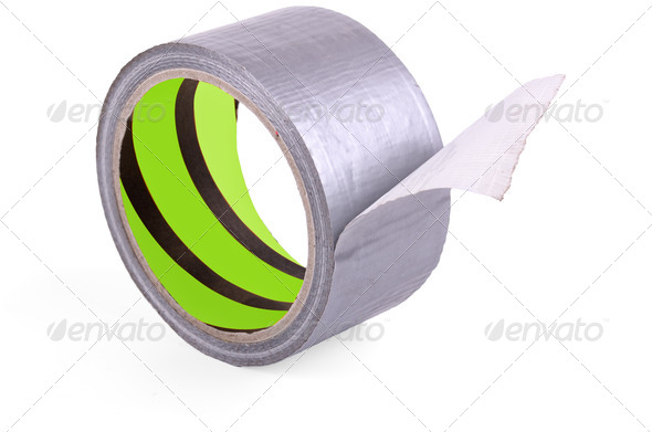 roll of adhesive tape - Stock Photo - Images