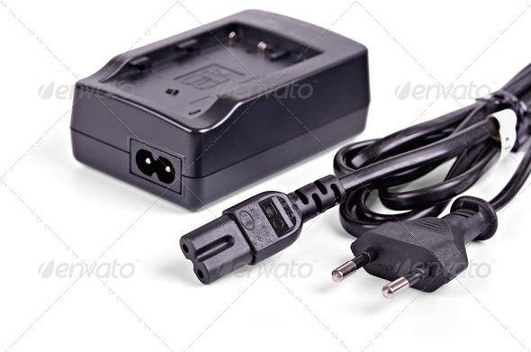 Battery charger - Stock Photo - Images