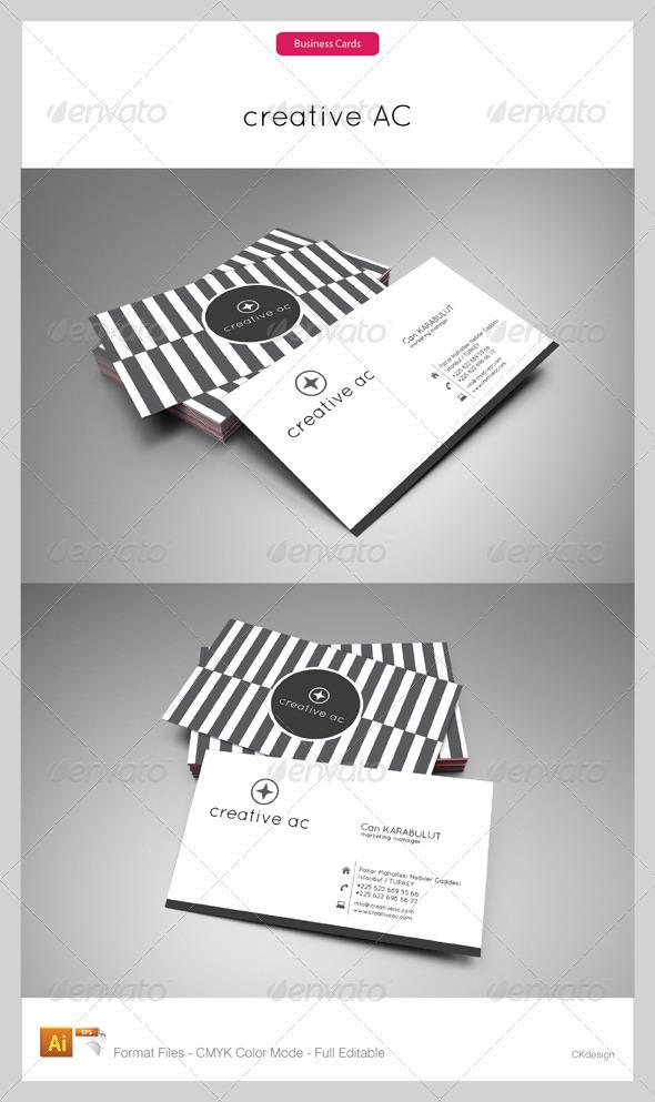 Corporate Business Cards 103 - Corporate Business Cards