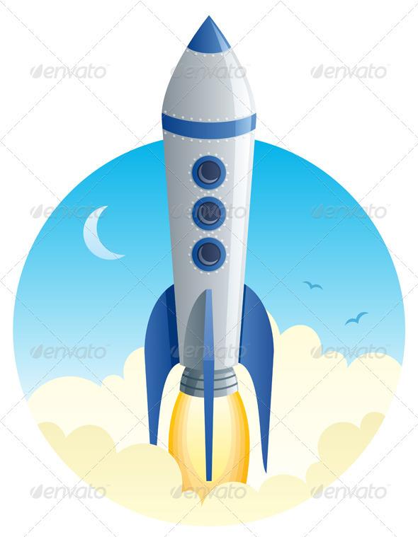 Rocket Launch - Technology Conceptual