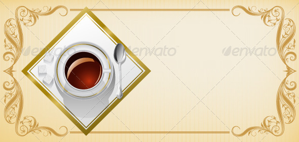 Invitation_to_tea_party - Backgrounds Decorative