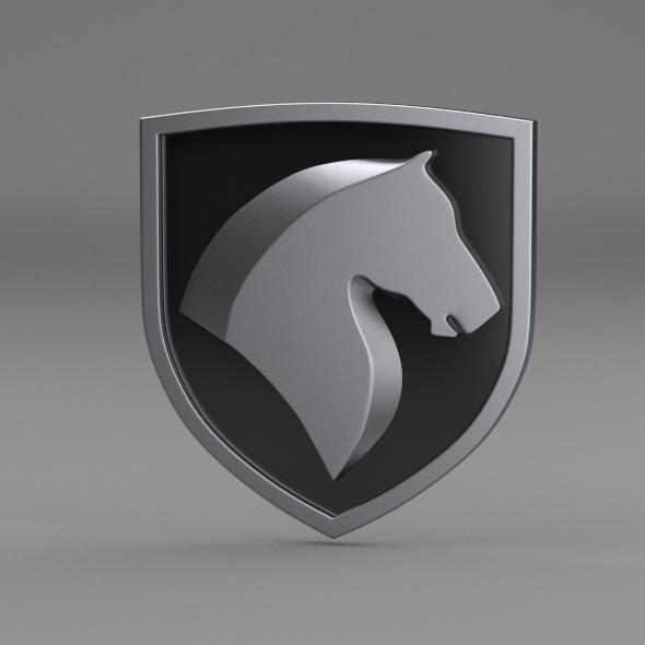 Khodro Logo - 3DOcean Item for Sale