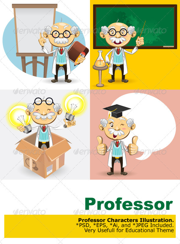 Professor Characters - People Characters