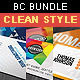 Clean & Creative Business Card Bundle - GraphicRiver Item for Sale