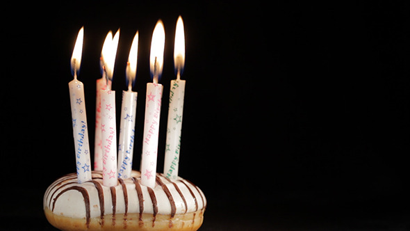 Six Or Seven Years Birthday Stock Footage
