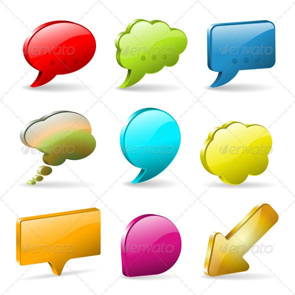 Speech Bubbles - Communications Technology