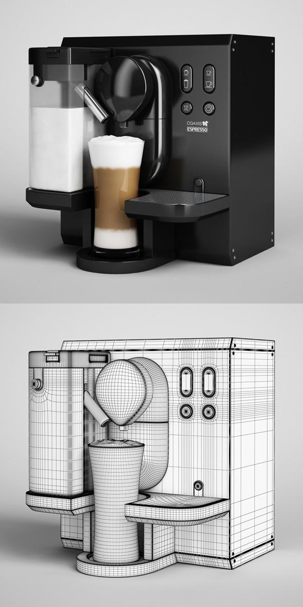 CGAxis Espresso Machine 04 - 3DOcean Item for Sale