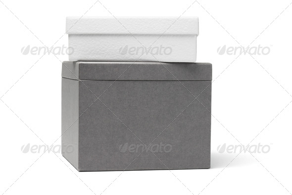 Two Gift Boxes - Stock Photo - Images