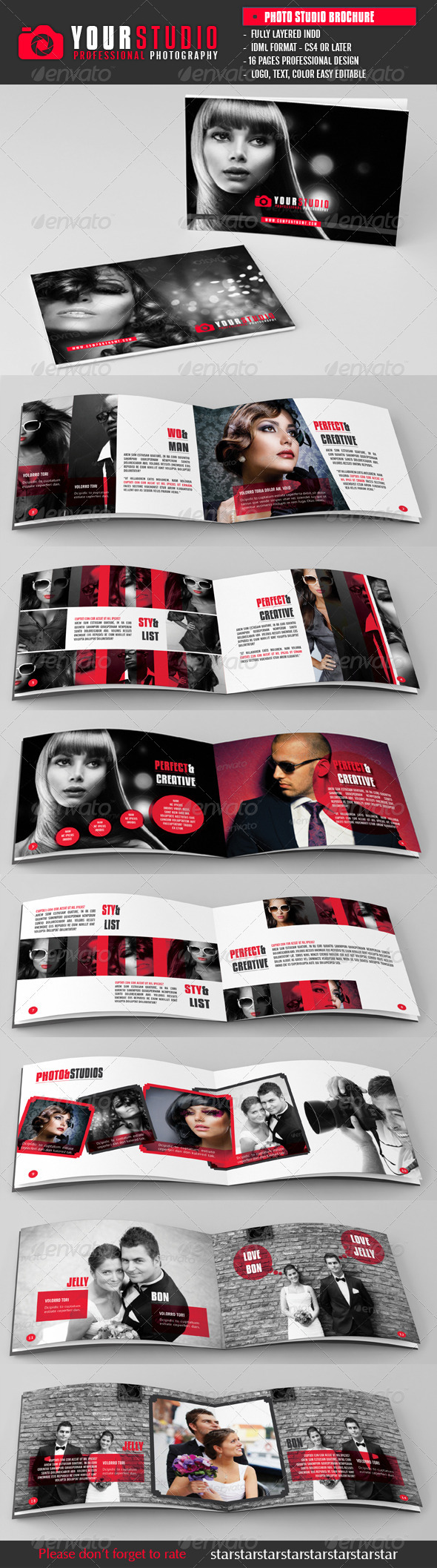 Photography Studio Brochure A5 - Brochures Print Templates