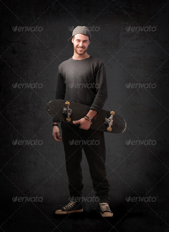 Skater Boy - Stock Photo - Images
