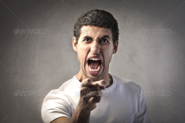 Accusing Finger - Stock Photo - Images