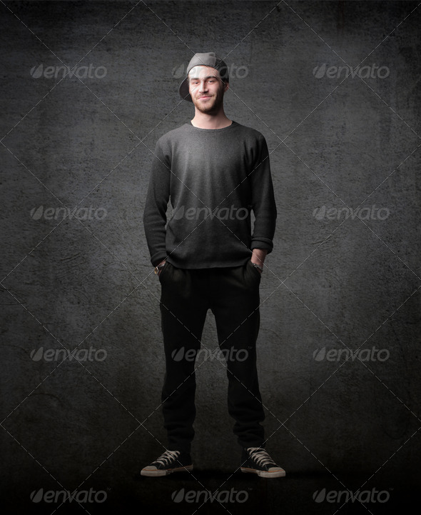 Street Boy - Stock Photo - Images