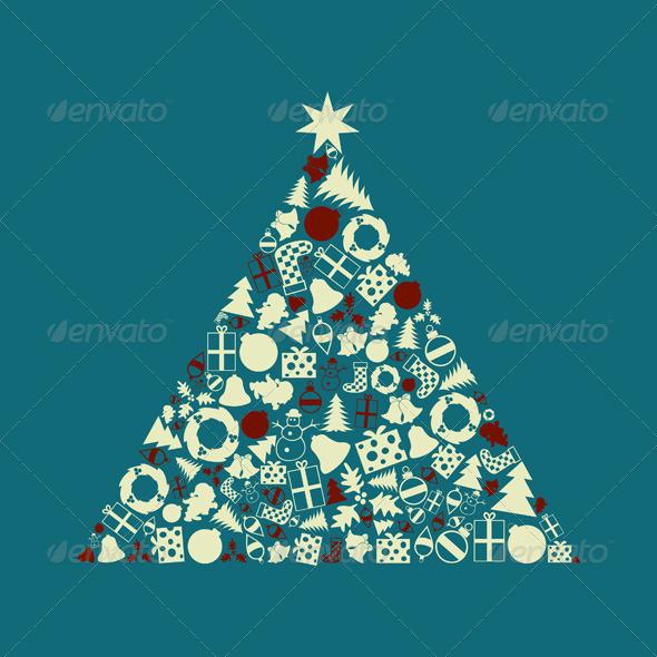 Christmas tree2 - Christmas Seasons/Holidays