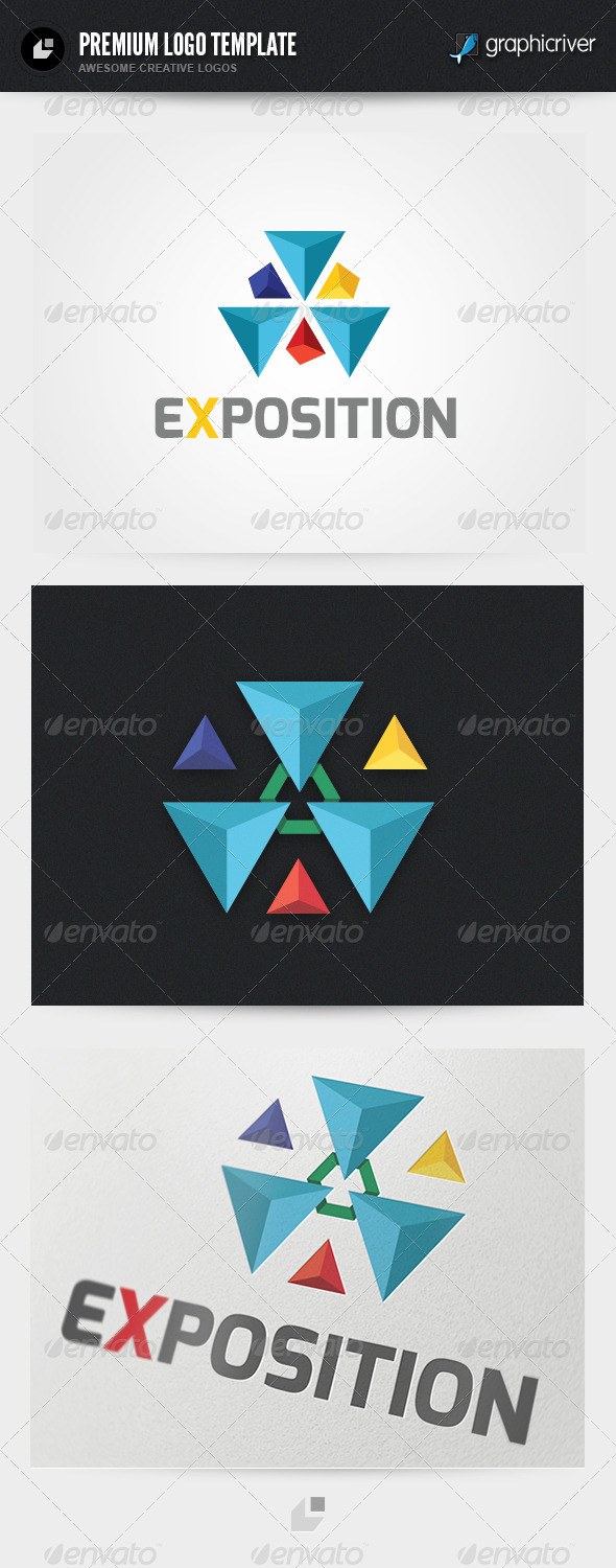 Exposition Logo - Vector Abstract