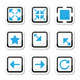 Web page screen size icons set - GraphicRiver Item for Sale