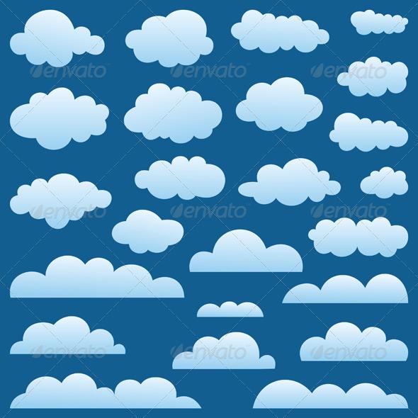 Set a cloud - Miscellaneous Vectors