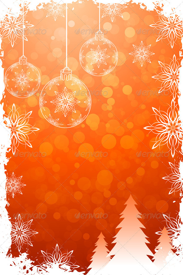 Grungy Christmas Card - Christmas Seasons/Holidays