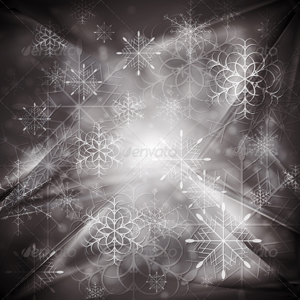 Abstract X-mas background. Vector illustration - New Year Seasons/Holidays